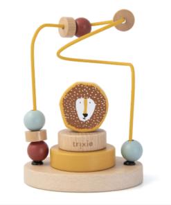 Trixie ξύλινο παιχνίδι προγραφής Mr Lion