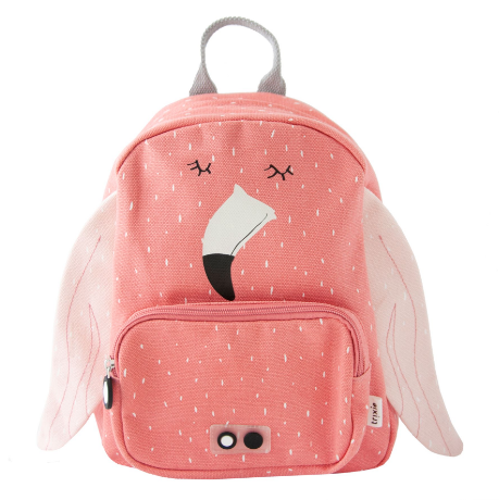 Trixie αδιάβροχο παιδικό σακίδιο πλάτης Mrs Lion Flamingo