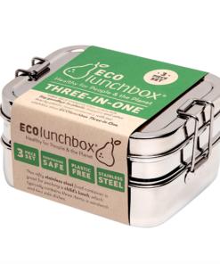 ECOlunchbox Three-In-One Classic Ανοξείδωτο Σκεύος
