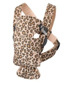 BabyBjörn μάρσιπος Mini 3D Jersey leopard