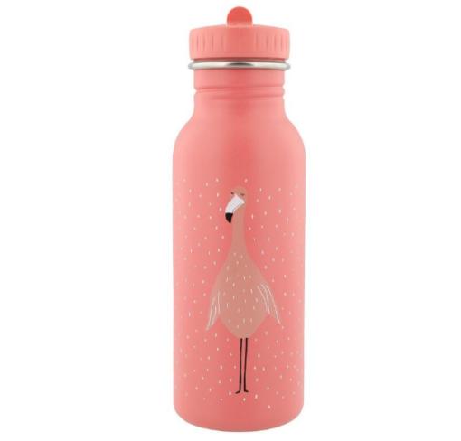 Trixie παγούρι νερού με στόμιο καλαμάκι Mrs Flamingo 500ml
