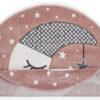 Παιδικό χαλί Sleepy Moon στρογγυλό 120Χ120 cm