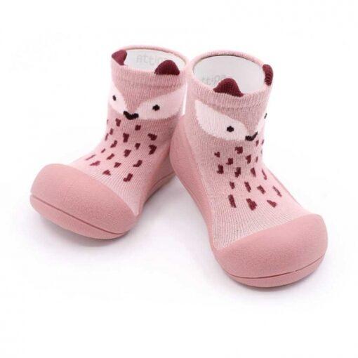 Βρεφικά ανατομικά παπούτσια Attipas Fox pink