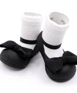 Βρεφικά ανατομικά παπούτσια Attipas Mary Jane Black
