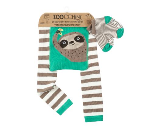 Bρεφικό κολάν με κάλτσες για μπουσούλημα Sloth