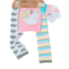 Bρεφικό κολάν με κάλτσες για μπουσούλημα Unicorn