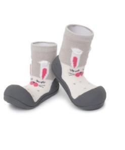 Βρεφικά ανατομικά παπούτσια Attipas Pet Grey