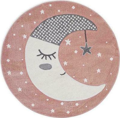 Παιδικό χαλί Sleepy Moon στρογγυλό 150Χ150 cm