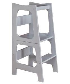 Eco πύργος εκμάθησης με τραπέζι καρέκλα σε ένα grey