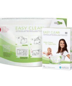 ARDO Σακουλάκια Αποστείρωσης σε Φούρνο Μικροκυμάτων Easy Clean 5τμχ