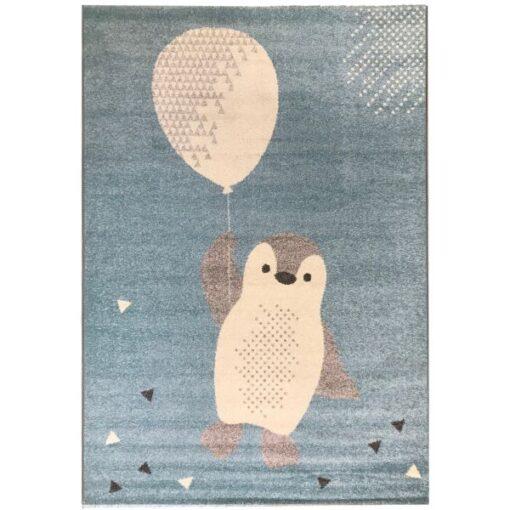 Παιδικο χαλί Πιγκουινος με μπαλόνι 135Χ190