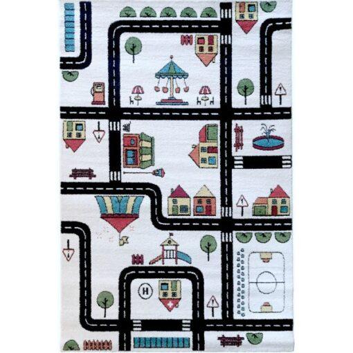 Παιδικό χαλί Αυτοκινητόδρομος Roadmaps in color 160 X 230