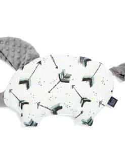 La Millou μαξιλάρι νεογέννητου SLEEPY PIG ROYAL ARROWS