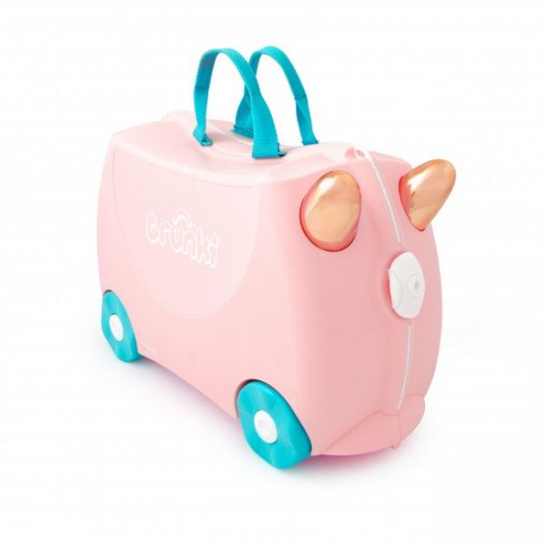 TRUNKI Flossi The Flamingo Παιδική Βαλίτσα Ταξιδιού