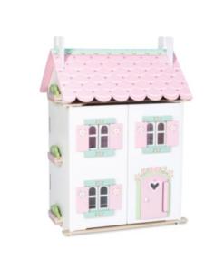 Le toy Van κουκλοσπιτο ξύλινο Sweetheart πληρες με έπιπλα
