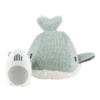 FLOW Υφασμάτινη Φάλαινα Moby με λευκούς ήχους & μουσική Light Mint