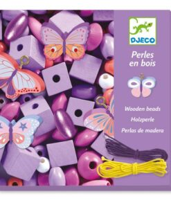 Djeco Κατασκευές Ξύλινων Κοσμημάτων Πεταλούδες